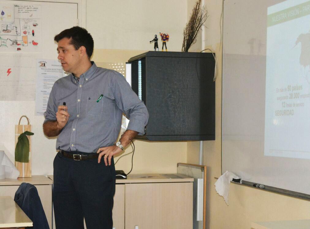 Josep Dalfó, Director General De DEKRA Industrial Participa En La 5ª Semana Del Emprendimiento En Lleida
