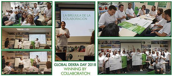 Yvonne Rauh Presenta, En Las Oficinas De Barcelona, El Global DEKRA Day 2018 Con El Lema Winning By Collaboration