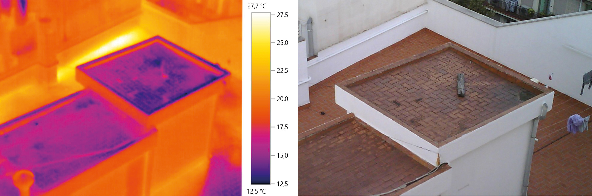 El Departamento De Control De Edificación De DEKRA Industrial Ofrece Termografía Como Herramienta Para El Diagnóstico De Humedades Y Filtraciones En Cubiertas