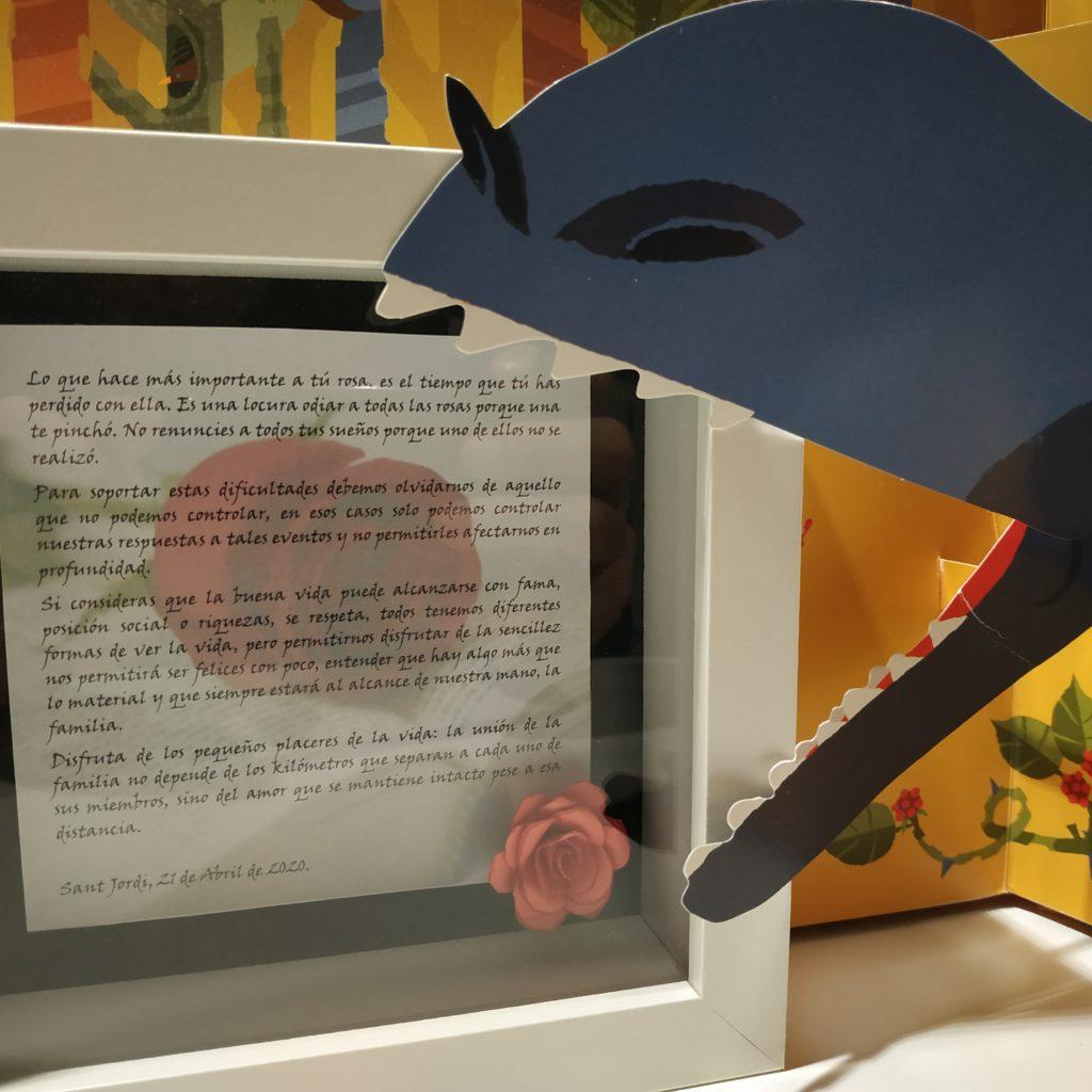 Sant Jordi, El Llibre, La Flor I El Drac
